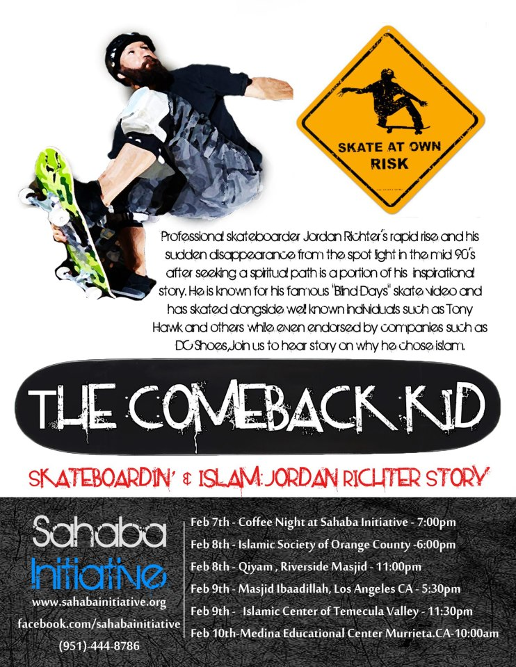 The Comeback Kid Tour – Postcard