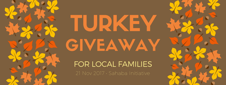 Turkey Giveaway  – Event Cover